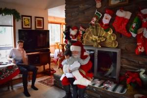 Santa Claus Bellevue Washington